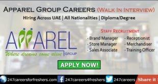 Apparel Group Careers