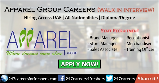 Apparel Group Careers