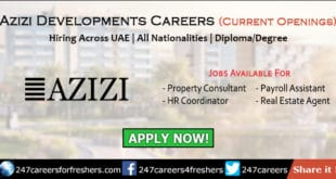 Azizi Developments Careers