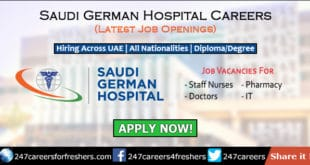 Saudi German Hospital Careers