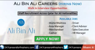 Ali Bin Ali Careers