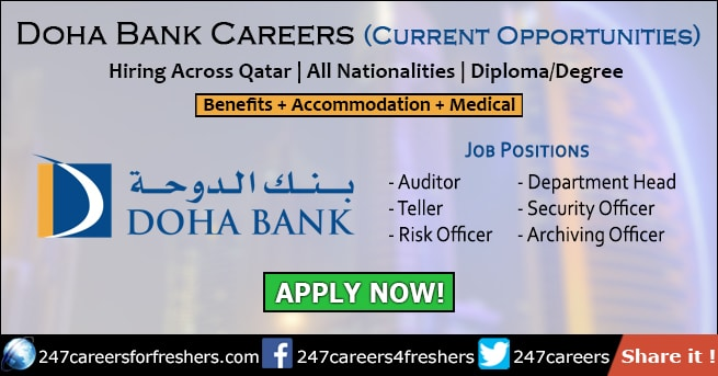 Doha Bank Careers