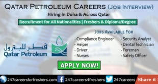 Qatar Petroleum Careers