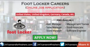 Foot Locker Careers