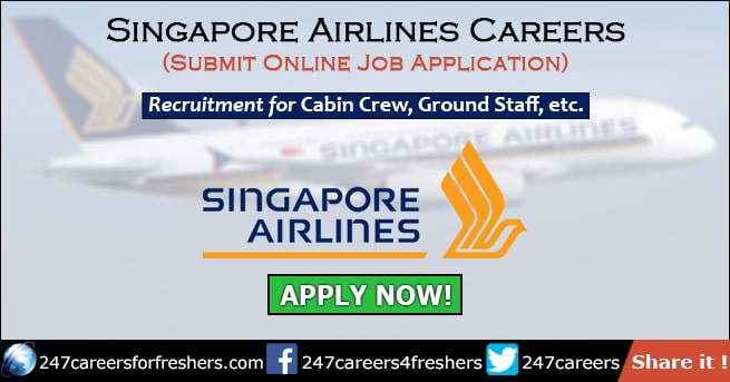 Singapore Airlines Careers